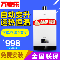 Macro/ JSQ20-10W1 Macro gas water heater gas water heater exhaust temperature 10L