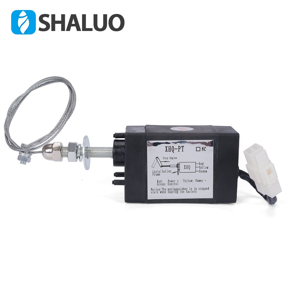 Diesel throttle switch 24V vehicle four in one electronic stop control oil flameout device 12V