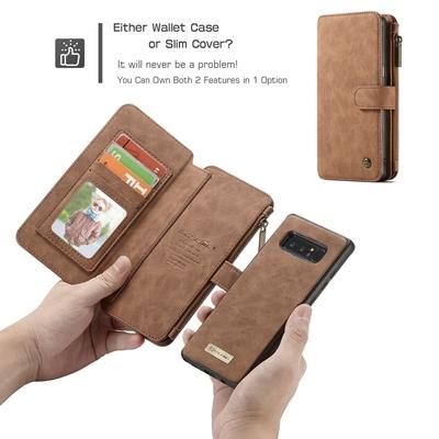 三星note8手机皮套S8保护壳S8+真皮S7edge翻盖S8plus钱包拉链插卡