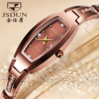 Tungsten Bracelet Watch retro female temperament Watch Bracelet Watch rose gold tungsten tungsten female female watch strap accessories