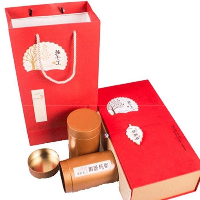 West Lake Longjing tea boutique packing box manufacturer hand bag Tieguanyin active package