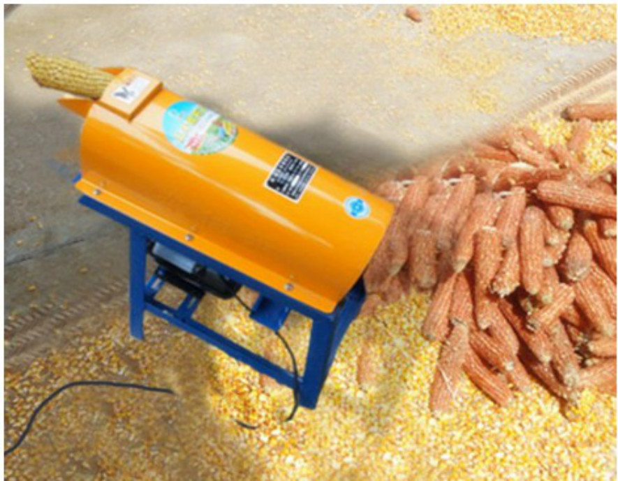 Household electric corn threshing machine, small corn thresher, corn thresher processing machine not rotten copper core