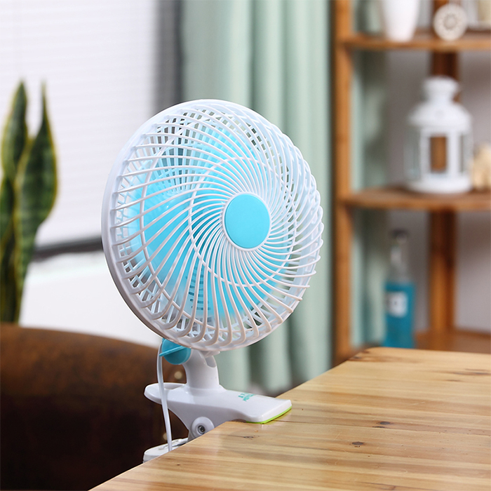 Household refrigeration fan blade dormitory elbow core stamp bed convenient bracket fan timer