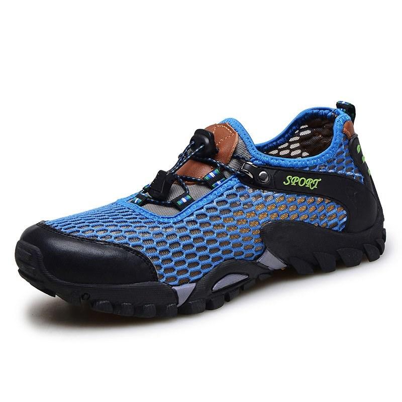训练涉水夏季网面运网眼重装新品男子轻装徒步鞋冲锋男鞋户外