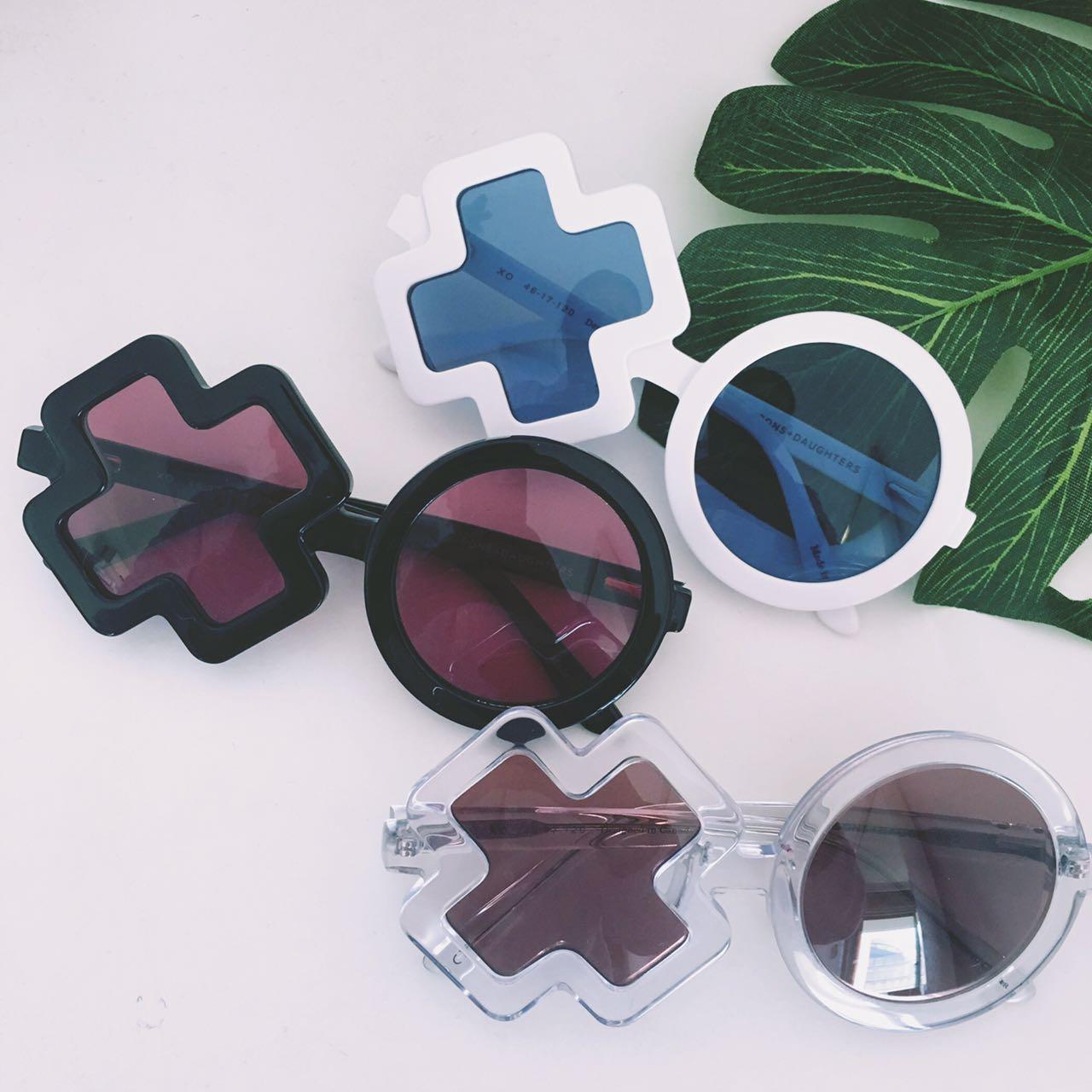 威廉家 2017春夏新品 XO款式男童女童防紫外线小孩太阳眼镜墨镜