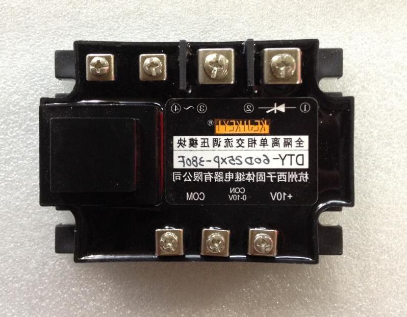 Full isolated single-phase AC voltage regulator module, Hangzhou Xizi DTY-60D25XP-380F new spot
