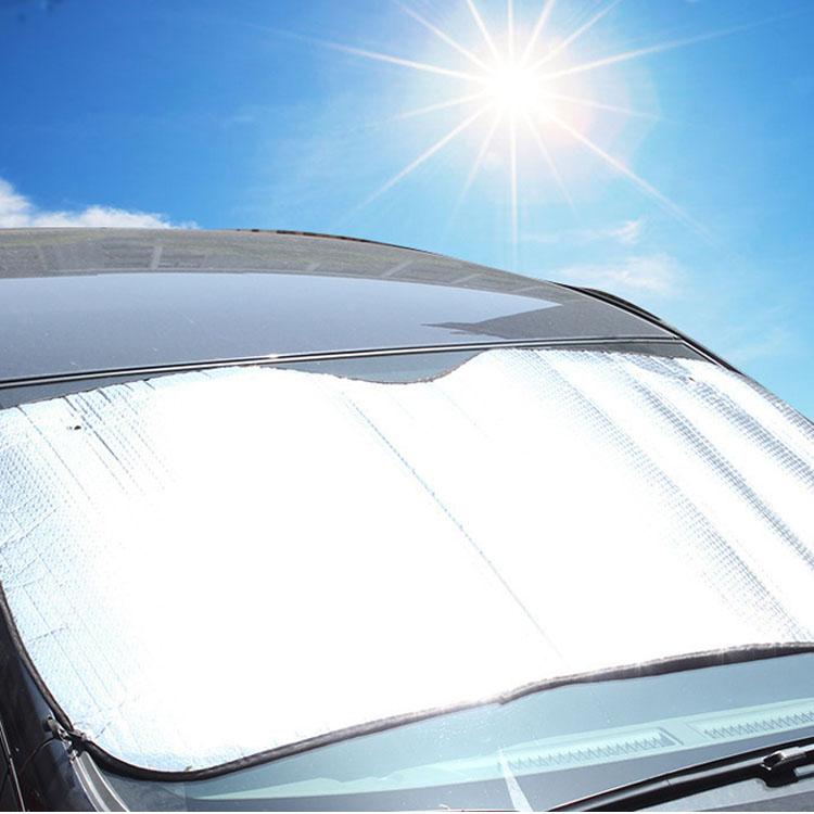 - sun - främre mellanväggen bil sol. solkräm och värmeisolering tjockare front - reflekterande solskyddet - fil