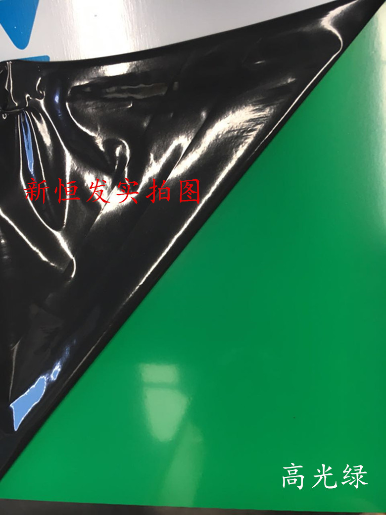 Factory direct sales! 3mm Shanghai auspicious high light green interior exterior advertising decorative material aluminum plastic board