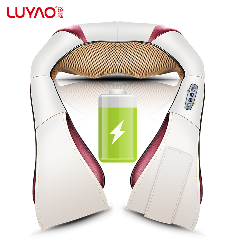 Lu Yao shoulder massage kneading neck shoulder waist charging multifunction body Le neck cervical vertebra massager