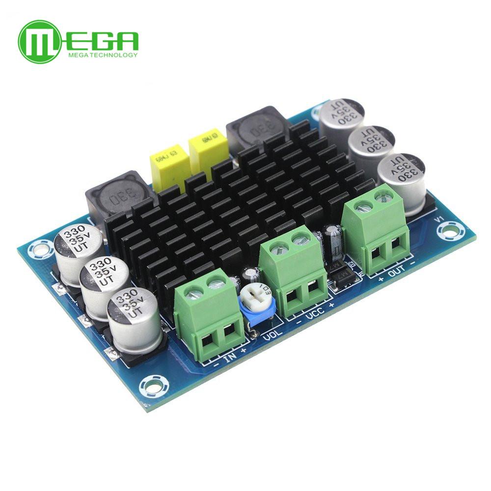 XH-M542 mono 100w digitala förstärkare TPA3116D2 12-26V digital audio - förstärkare.