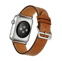 Apple watch strap, apple watch band, Iwatch strap, Hermes single lap leather strap