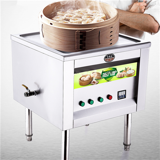 Commercial steamed bread fan stainless steel drawer type solenoid valve solenoid valve steam blower steam fish steamed furnace gas