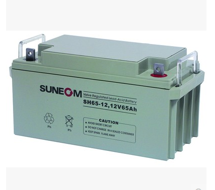 New energy SUNEOM battery SH65-12UPS special battery 12V65AH lead acid free maintenance battery