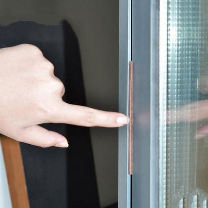 Material de aislamiento de la vitrina de esponja de sellador, abre la puerta del cuarto de baño cierre puertas y ventanas para fondo de lana, pegamento