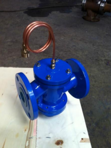 Self operated differential pressure control valve DN40DN50DN65DN80DN100 vertical differential pressure control valve