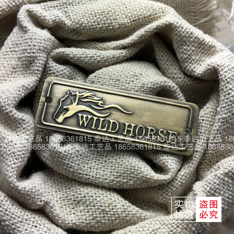 The manufacturer is making a metal sign, silk, silk and aluminum plate nameplate.