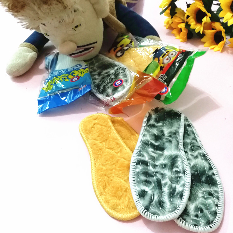 儿童鞋垫冬季厚加绒羊毛男童女童鞋垫保暖宝宝小孩儿童专用 秋冬