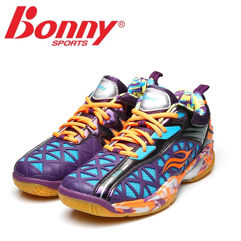 正品波力BONNY羽毛球鞋男鞋142B142C专业男女运动透气鞋