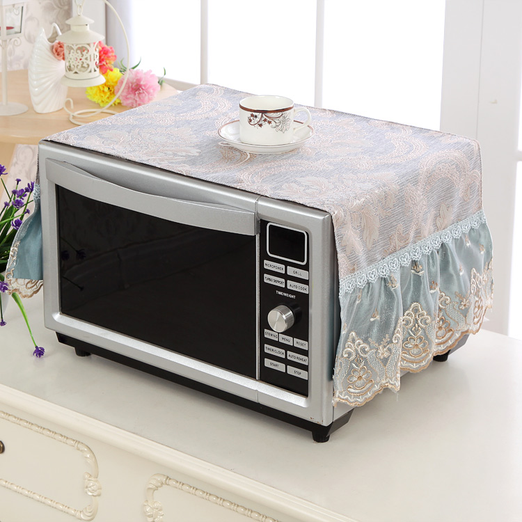 General Galanz Midea microwave oven cover household dust cover cover European kitchen waterproof and oil proof.
