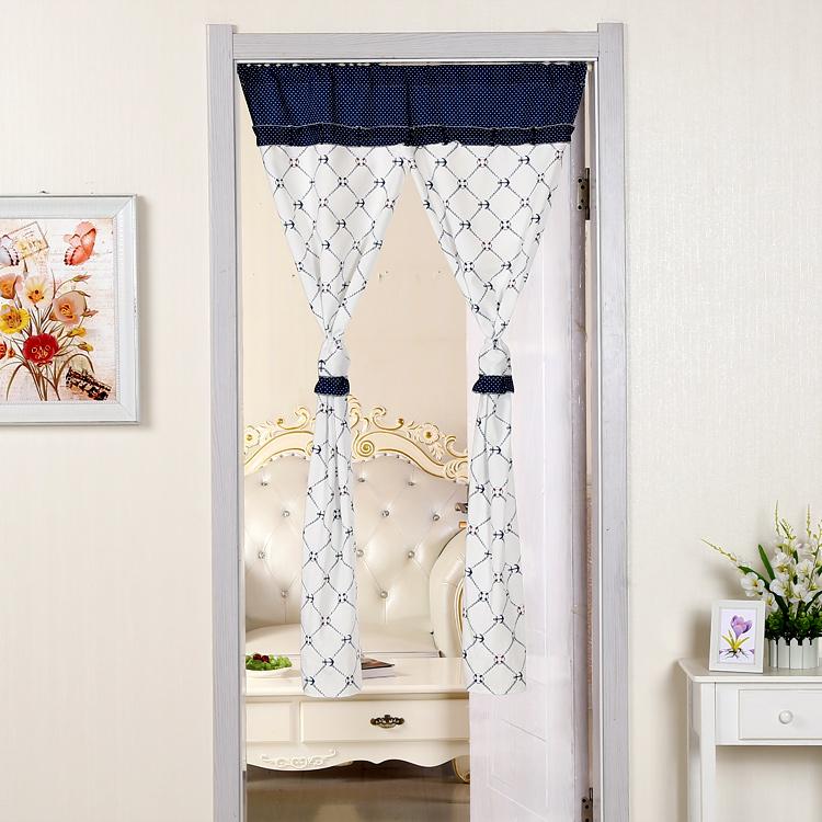 vrata spalnice dnevna soba in pol kopalnic krpo za zaveso four seasons senčenje bogastvo domače moderne preprosto končnih porazdelitveni zavese.