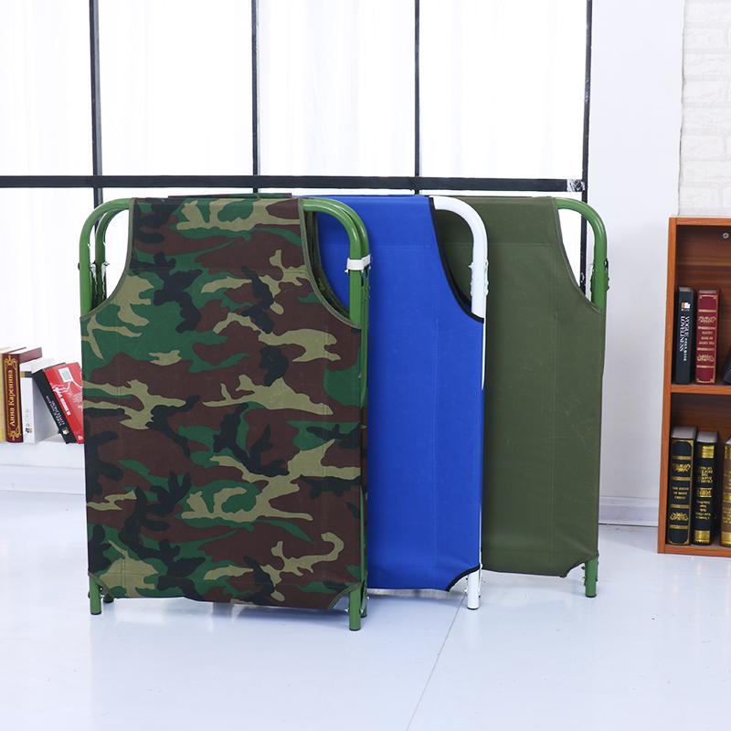 односпальная кровать простой складные кровати больницы, сопровождающие офис НПД кровать портативный открытый пляж кровать раскладушка пакет mail