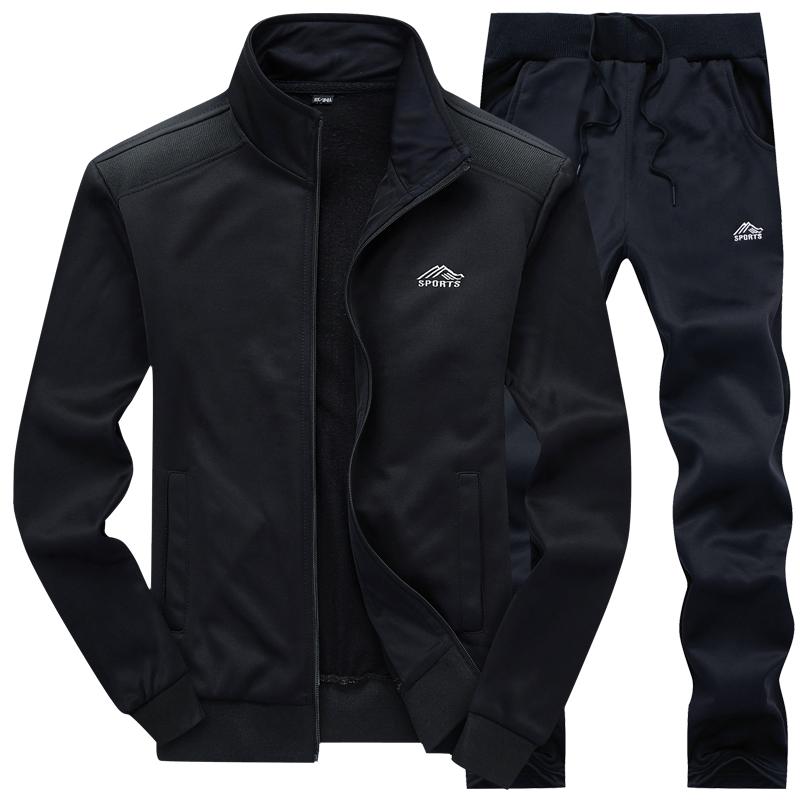 Los hombres de traje deportivo especial otoño coreano cada día grandes códigos adolescentes hombres chaqueta deportiva.