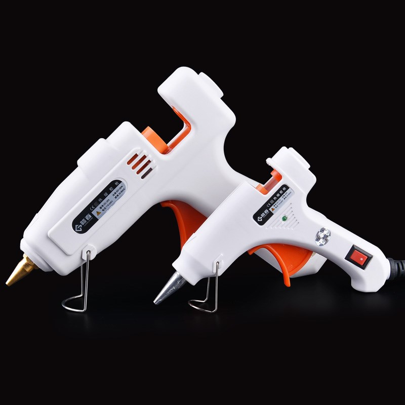 Hand glue gun pneumatic electric speed soluble transparent automatic Mini thermostat multi function small heat production saving power