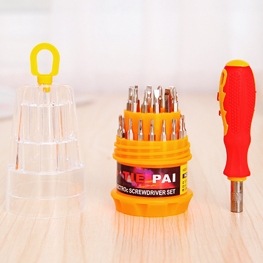 Hardware combination head screwdriver set plum cross screwdriver tool