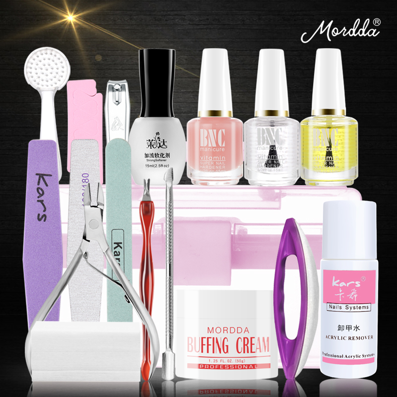 Manicure kit package based personal apprentice beginners Nail Manicure supplies full set shipping