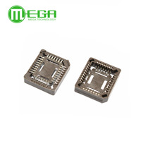 PLCC32IC socket to SMD patch test stand, transfer seat, chip seat plug in PLCC-32
