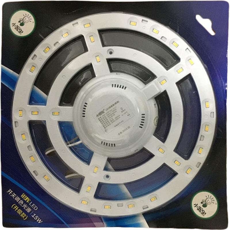 Lâmpada led de Luz de tetO Luz de Placa circular, lâmpada de poupança de Energia Luz sovina adesivo transparente