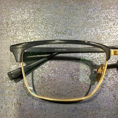 上金 日本手工全钛LIFE眼镜商务休闲方框ALEN镜架超轻时尚近视原单