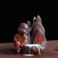 Back tea pet tower incense incense burner bedroom accessories incense incense burner mountain water Home Furnishing Yixing tea