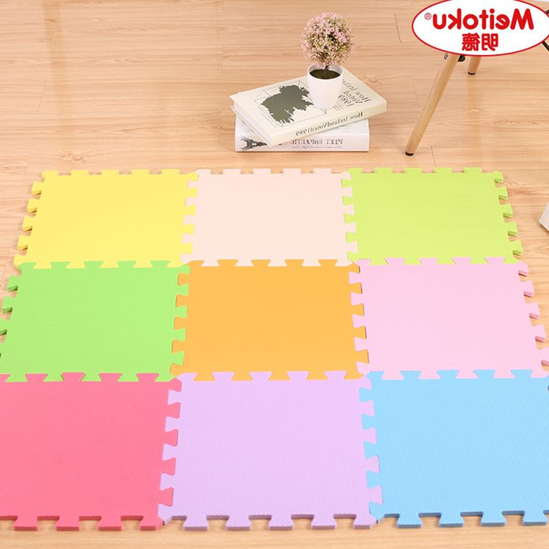 Foam mat household bedroom crawling pad children living room cleaning environmental puzzles stitching tatami mats