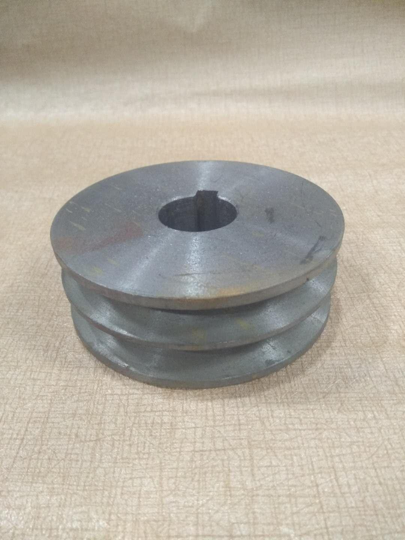 клиноремённый шкив чугун автомобильный ремень диск двойной Groove типа A диаметром 60 мм диаметр 28