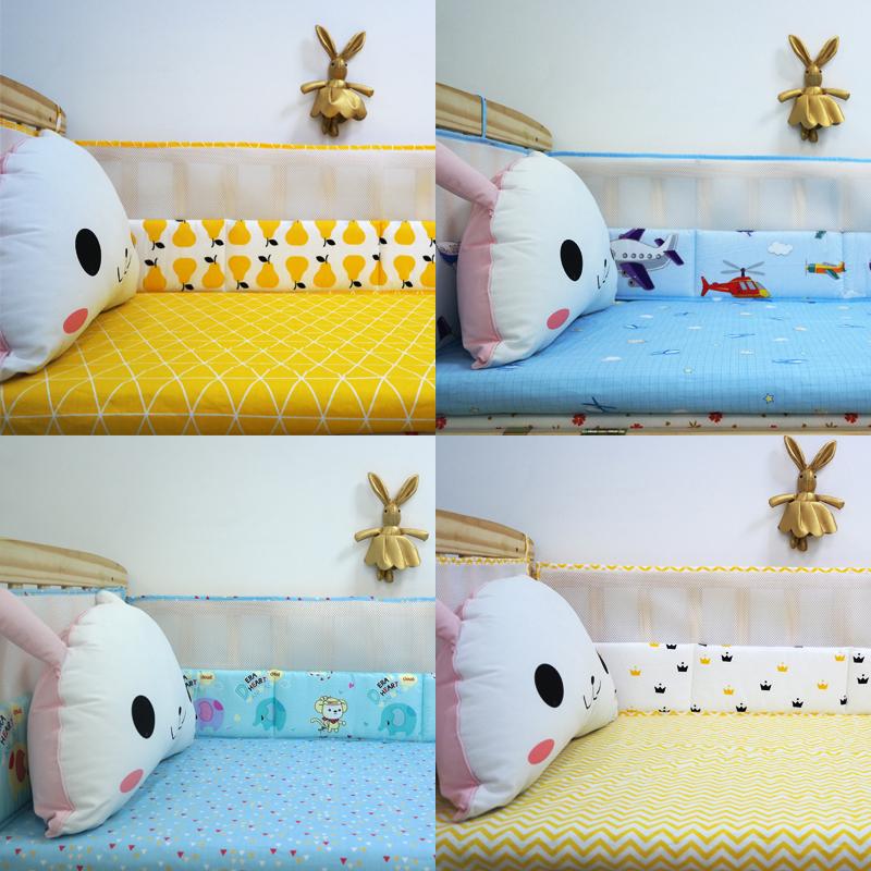 τέσσερις εποχές γενικά βρεφικό κρεβάτι WAI παιδιά μωρό σουίτα κρεβάτι μαξιλάρι το κρεβάτι του να μπορούν να πλένονται έθιμο