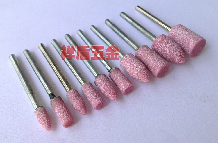 Small carbide grinding head woodworking M-type single and double groove rotary file grinding mill milling