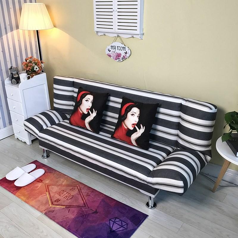 現代シンプルな小さいソファーミニ簡易ソファーベッド折りたたみ式ベッドルーム、ソファベッドルーム、ソファ