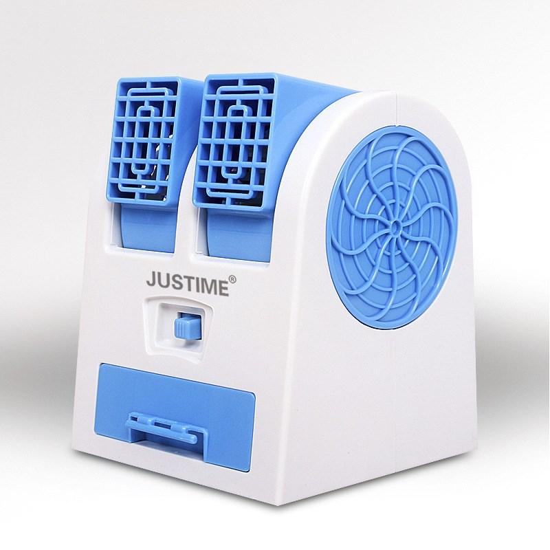 De nuevo un pequeño ventilador ventilador de refrigeración pequeño portátil USB mini residencia creativa a bordo de refrigerante agua micro eléctrico