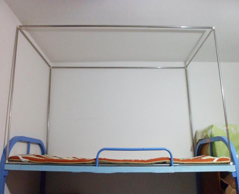 特価はかやベッドの簾ステントのステンレス管の7月に敷くことができます