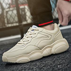 【潮人坐标】春季鞋子男潮鞋百搭时尚运动休闲鞋男白色网红老爹鞋
