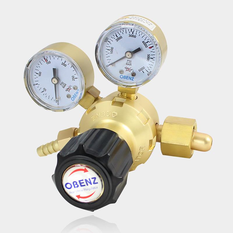 OBENZ/ 오스트리아 빈 옛날 산소 시계 에너지 절약 감압변 용접기 프레셔 가스 미터 가스 밸브 OBC-222 부품