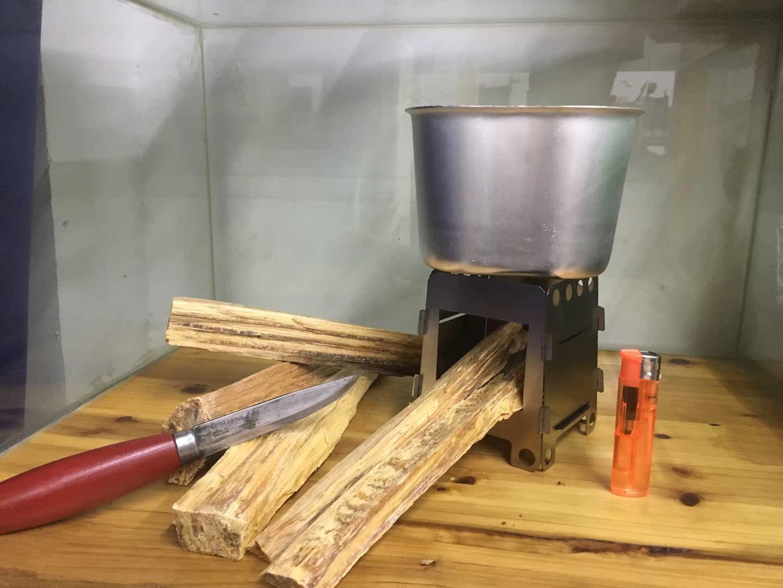 Bushcraft дрова в печь печь дрова в печь дрова открытый карты складные портативный мини - дрова в печь дрова в печи