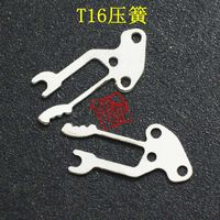Mechanical watch T16 watch fittings, T16 Spring Spring Watch fitting parts, movement parts, pressure spring, T16 spring