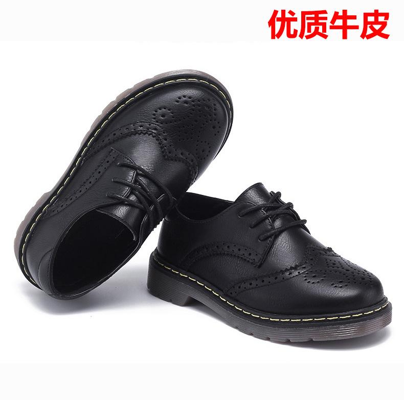男童鞋黑色表演鞋20