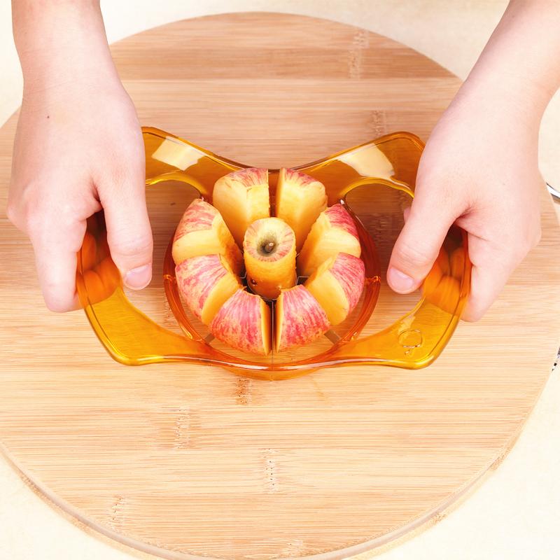 Dicken Edelstahl - Apple würfel slicer Kern in Orange schälen Obst Cutter - Messer - tools