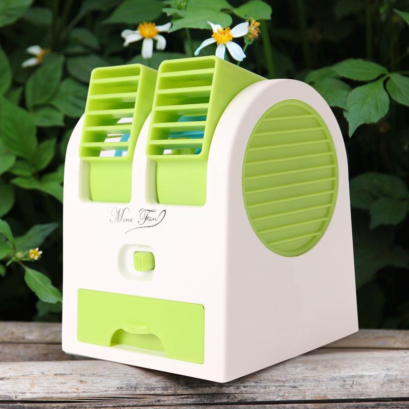 - kleine ventilator koud aan boord van koel - en creatieve kleine draagbare ventilator mini - elektrische slaapzaal micro - water -