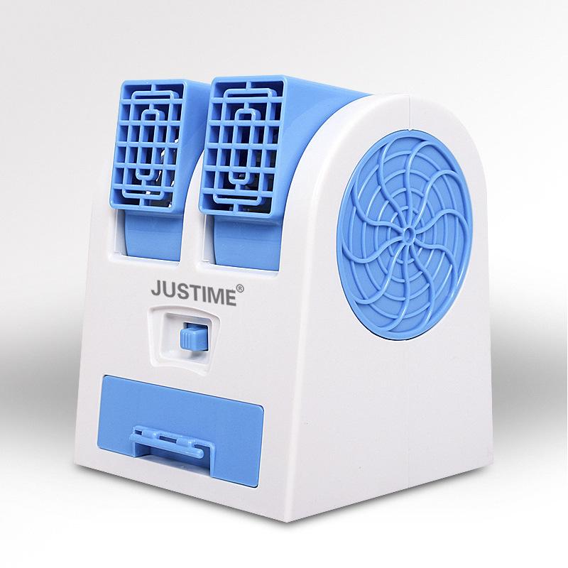 μικρή ανεμιστήρα μικρές USB δημιουργική φορητό ανεμιστήρα ψύξης κλιματισμού μίνι ηλεκτρικό κοιτώνα μίνι νερό ψύξης