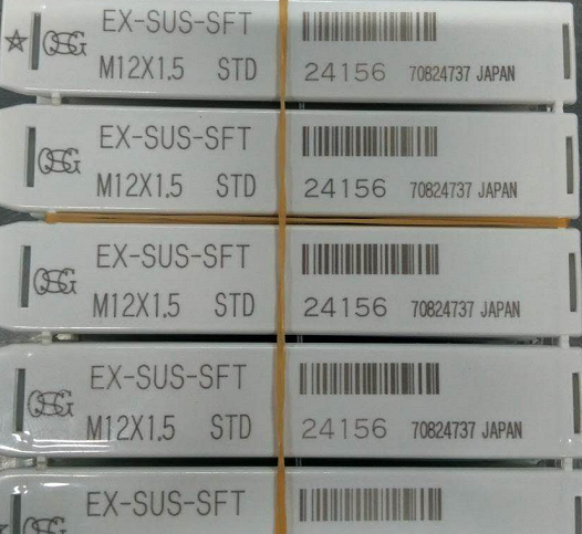 Japan OSG spiral taps 24156 name EX-SUS-SFT specifications M12X1.5 genuine fidelity