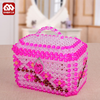DIY handmade beaded home appliances collection kit, treasure chest material package beads weaving craft jewelry production